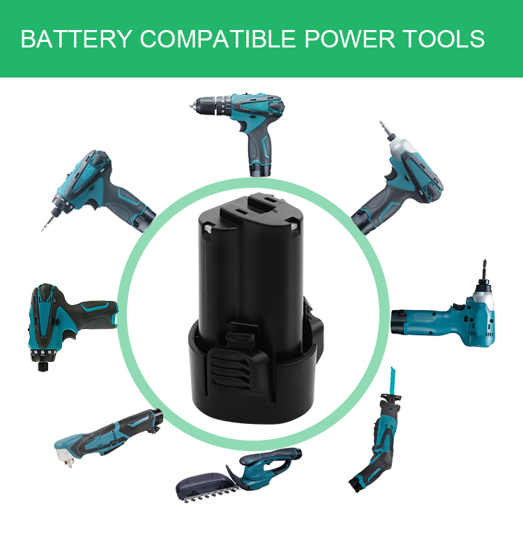 3.0Ah Rechargeable Power Lithium Electric Tool Battery BL1012 BL1013
