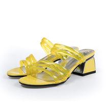 Женские сандалии FEDONAS, с ремешком на пятке, с открытым носком, на толстом каблуке, для свадебной вечеринки, на весну-лето 2020(Китай)