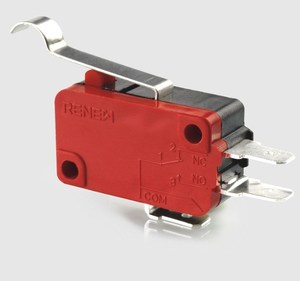 bent lever subminiature micro switch mini electric switch