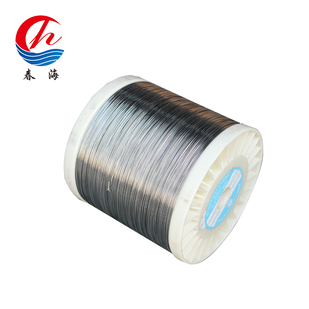 High resistance electric resistance wire heating