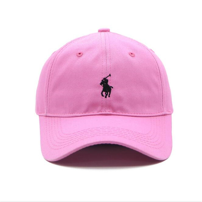 Stock 11 Colors High Quality Women Custom Unstructured Hat Dad Cap Plain Polo Dad hat