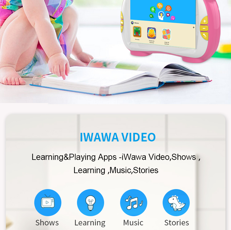 Factory wholesale high quality benefits smart toys children learning toys puzzle leaning machine