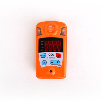 Portable high-precision infrared principle CO2 gas detector