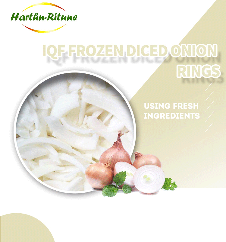 IQF Frozen Onion Vegetable with