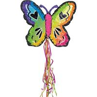 Party Decoration QZH Wholesale butterfly colorful paper pinata