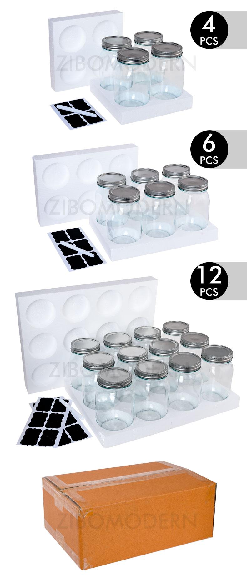 32 OZ / 1000 ML Air-tight Glass Mason Jar, Canning Jar, Glass Kitchen Canning With  Airtight Lid - Canning Jar Storage