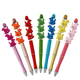 Cheap Price Low MOQ Decorated Bead Pens Christmas Gift Handmade Beadable Ball Pen DIY Sturdy Metal Beadable Pens for Kids