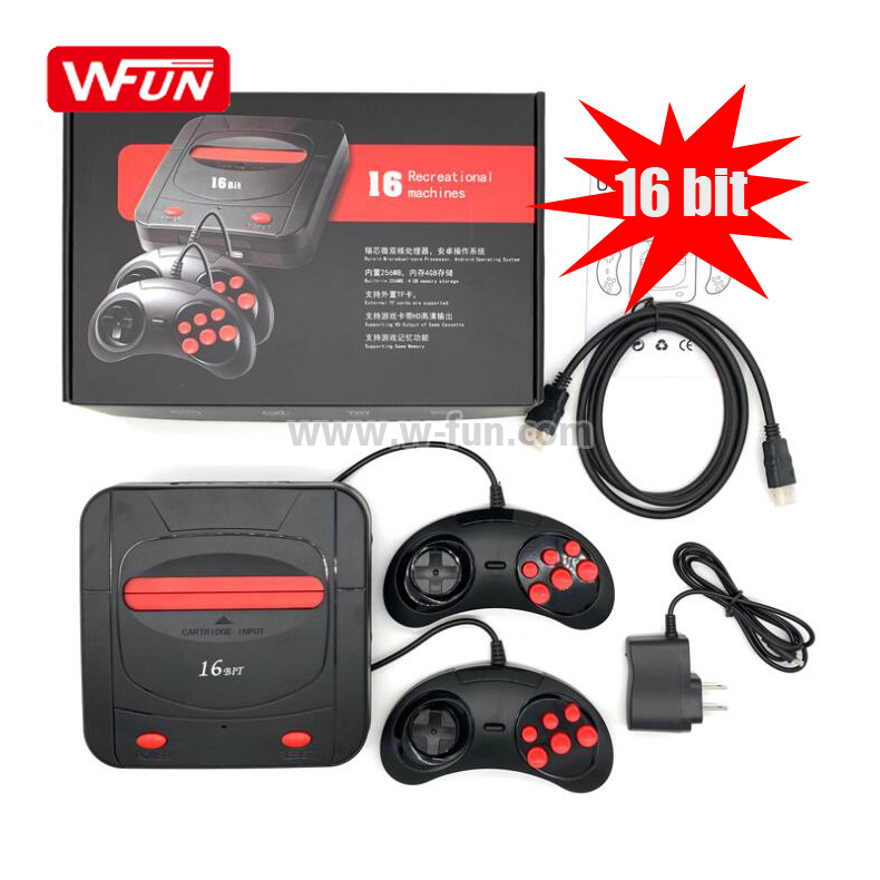 Newest Dropshipping Retro 16 Bit Video Sega Games Console TV Gaming Consoles For other+game+accessories