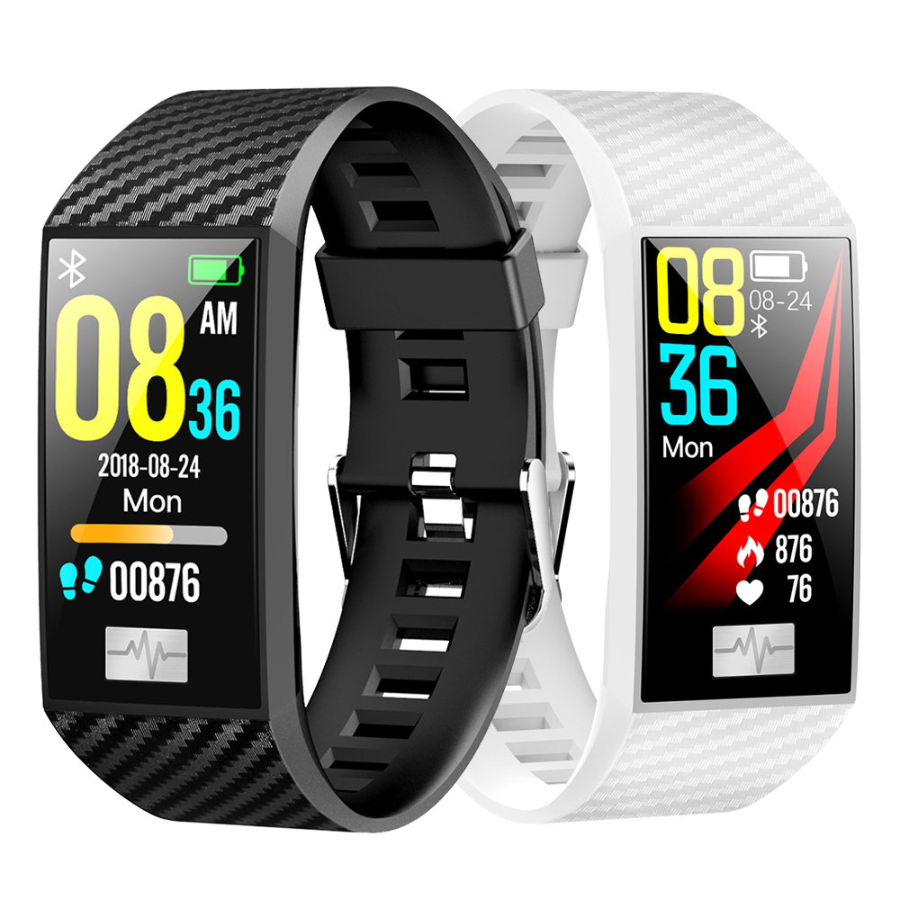 Dt N ° 1 DT58 Banda Intelligente IP68 Impermeabile Heart Rate Monitor da 1.14 Pollici Ips Grande Schermo Intelligente Orologio