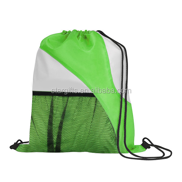 waterproof nylon Luxury drawstring bag from Allibaba China