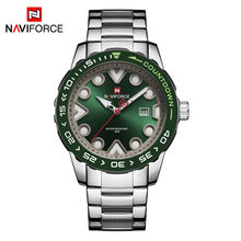 NAVIFORCE мужские часы, новые лучшие брендовые Роскошные спортивные часы с хронографом, военные армейские наручные часы, деловые кварцевые часы...(Китай)