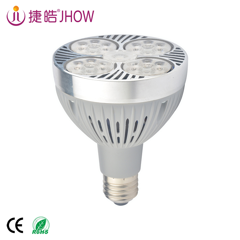 JHOW P30 Wholesale New Design Commercial Waterproof LED Light Aluminum Alloy Par30 Bulb 40W LED Spot Light