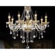 LSJ110 Luxury 8 arms modern crystal chandelier for hotel