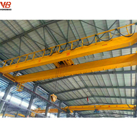 Factory supply widely used harga 1.5ton 2.5 ton 7.5tons 5 ton travelling double girder overhead crane