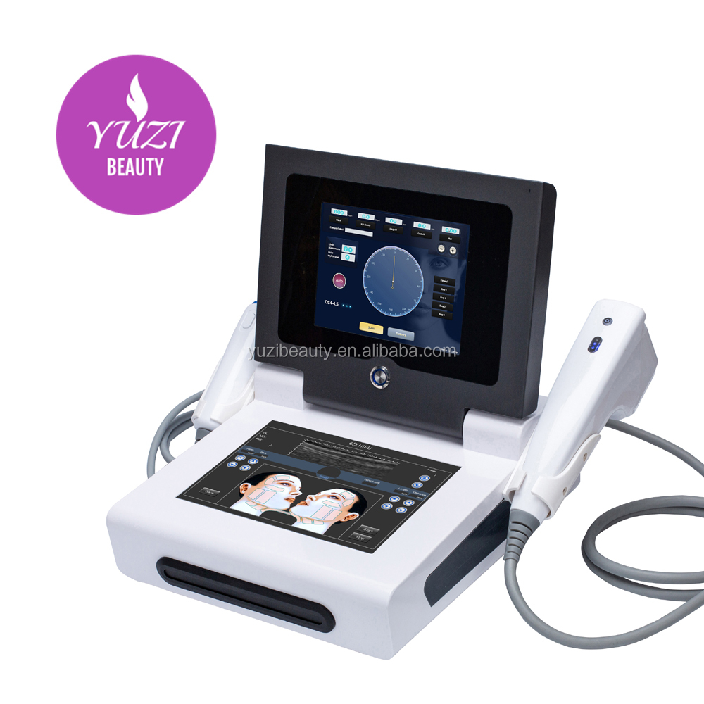 New 4D HIFU Machine 2 IN 1 with vaginal  Double Screens can work at same time