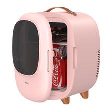 Baseus мини-холодильник с морозильной камерой 8л автомобильный холодильник 12В/220В для дома и путешествий охлаждение и нагревание Авто холодиль...(Китай)