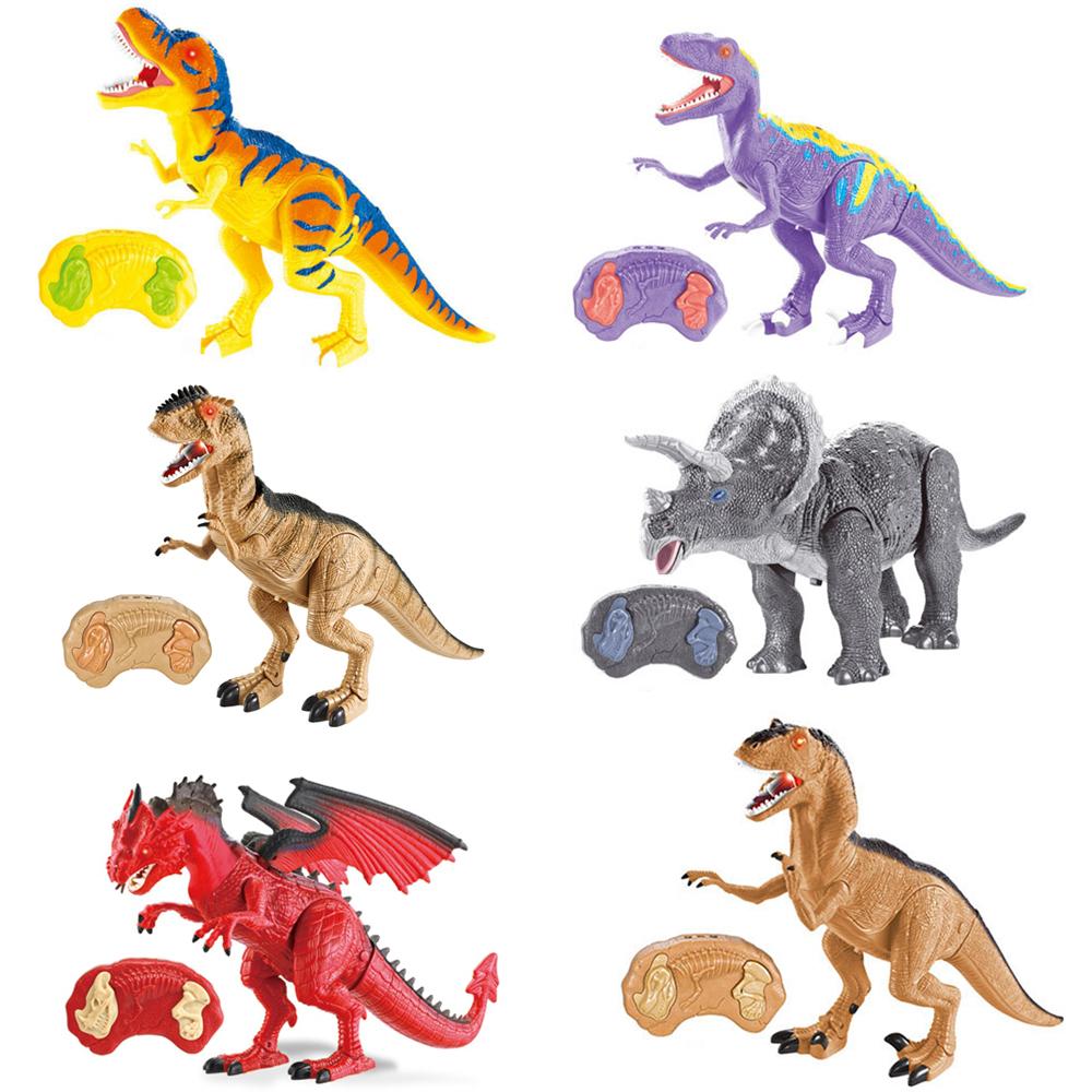 2020 Peuter Gift Plastic Speelgoed Infrarood Afstandsbediening Dinosaurus Lopen Radio Control Speelgoed Voor Kinderen