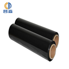 Soft Black Plastic Film Stretch Hot Sale Moisture Proof Black LLDPE Stretch Agriculture Black Plastic Film