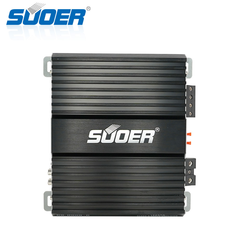 Suoer CB-500D-C car amplifier 1500w class d mono 1 channel 12v mini car amplifier