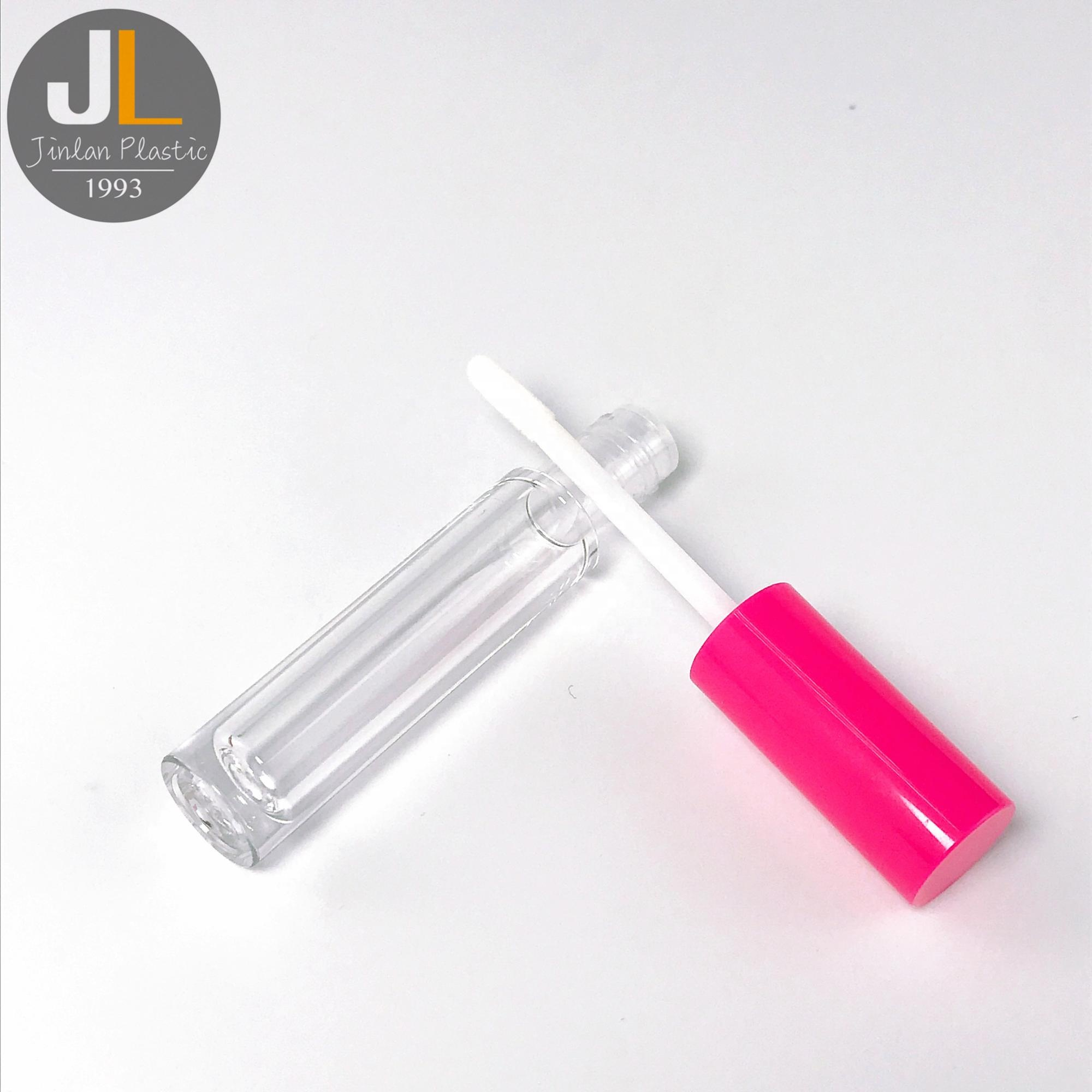 4.5ml High Quality Empty Private Label Liquid Pink Lip Gloss Tube