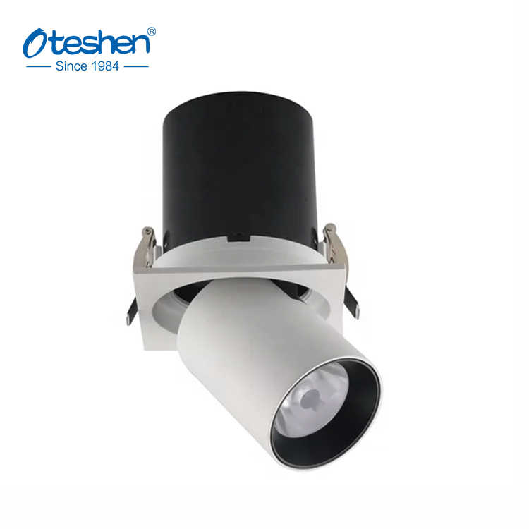 New design led recessed downlight cob ceiling led spotlights adjustable angle