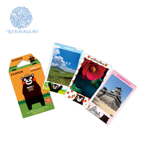 Orginal Fujifilm instax mini film  Kumamon edition frame 10 sheet pack instant mini film