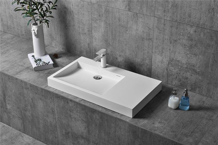 Wall Hung Basin Bathroom Vanity Sink