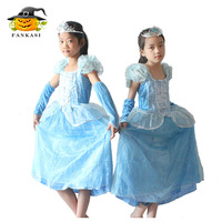 Fancy Cosplay Party Easy Princess Dress Up Costumes for Girls Kids
