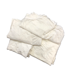 Hot sale industrial white used microfiber cloth scrap wiping rags