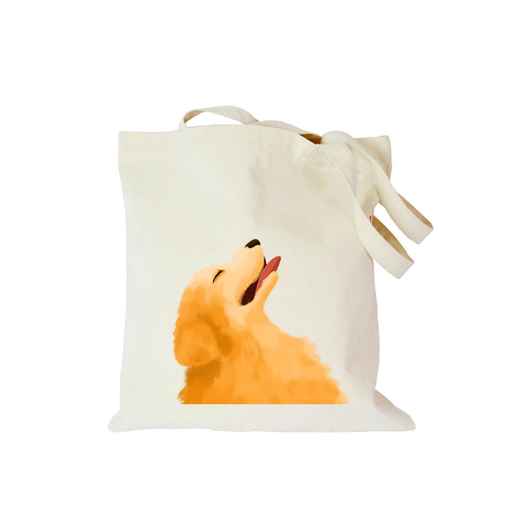 Promotional wholesale recycled 10oz large foldable customized logo cotton canvas tote bag