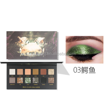 Makeup Perfect Eyeshadow Diary Explorer 12 Color Eye Shadow Tiger/ Piglet/ Ice Wolf /Animal Matte Eye Shadow