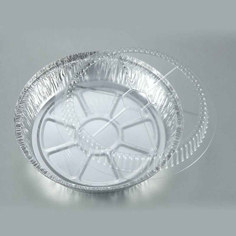 different sizes disposable aluminum foil food containers/trays/pan with dome lid