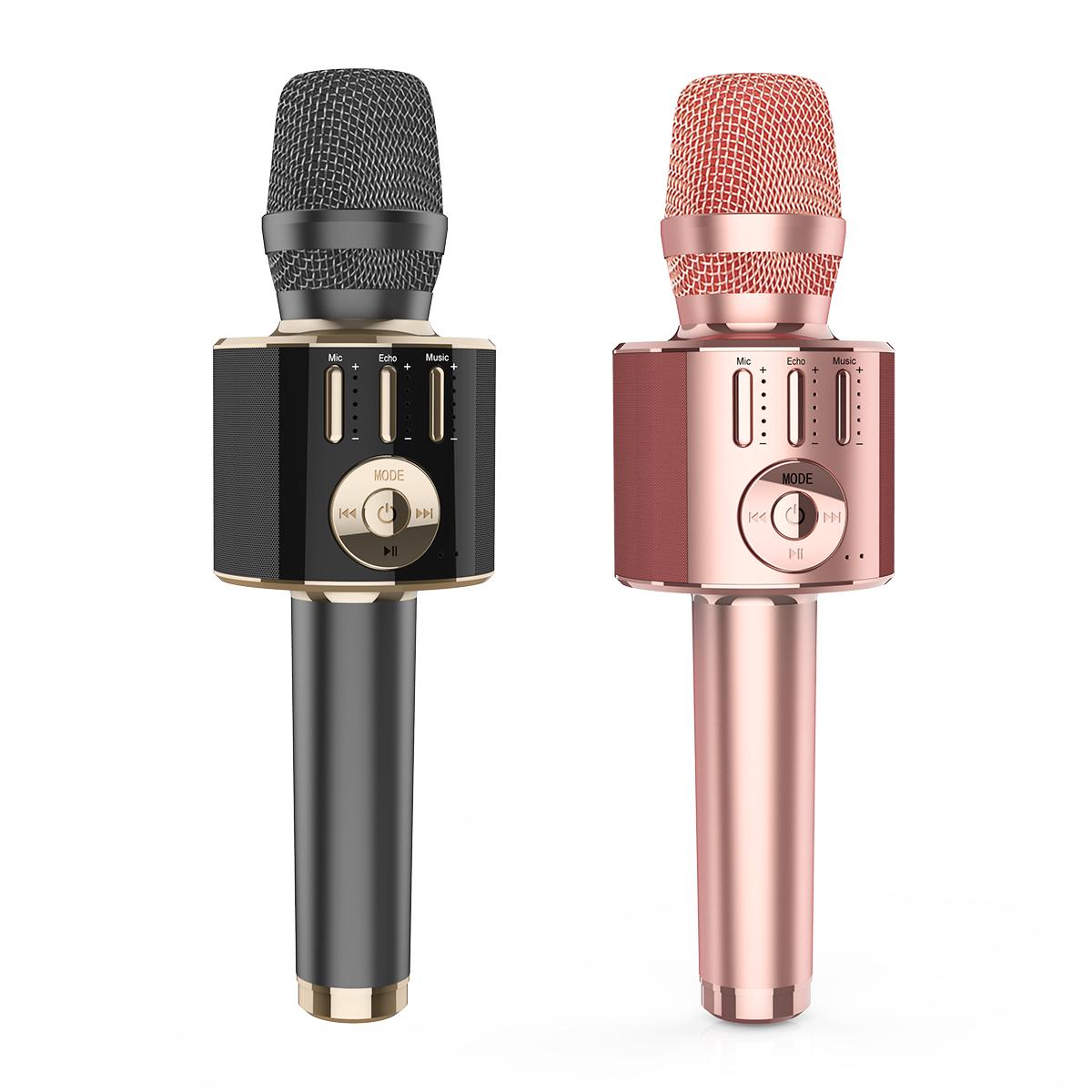 Gainstrong 7W 1800mAh handheld wireless karaoke microphone support microphone wireless karaoke professional and portable bluetoo