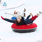Sledge Inflatable Snow Tubes Snow Sledge For Kids Having Fun