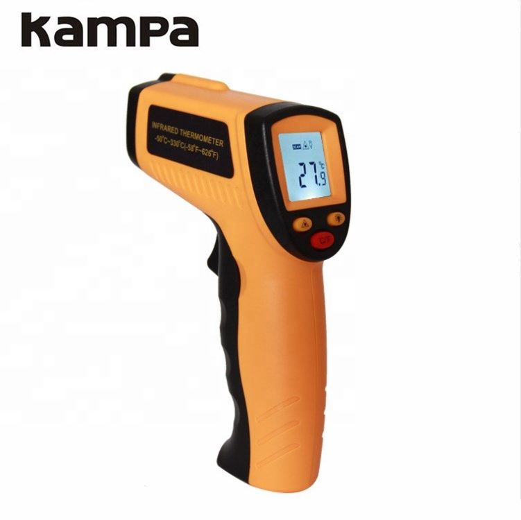 High Quality Digital Non Contact Infrared Thermometer <strong>Temperature</strong> Meter Gun -50 ~330C degree GM320