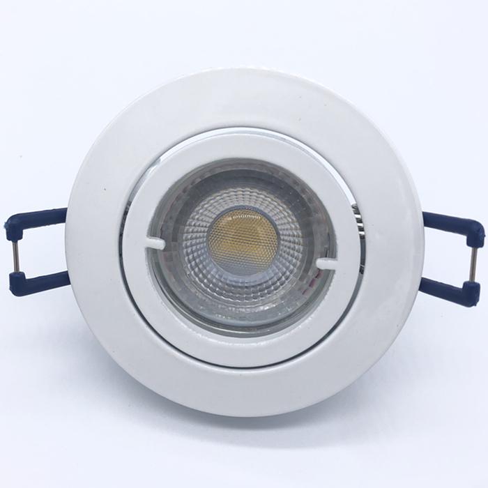 LED LAMP factory price 68mm cutsize led light MR16 gu10 spotlight aluminum spot light fittings