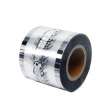 Food Grade Bubble Thee Afdichting <span class=keywords><strong>Film</strong></span>/Plastic Beker Papier Afdichting Roll <span class=keywords><strong>Film</strong></span> Voor Pp/Papier Cup