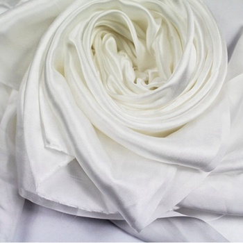 online sales wholesale Undyed White Natural Silk Fabric 12/14/16/19/22mm silk satin Silk Fabric 100% Pure for Dyeing