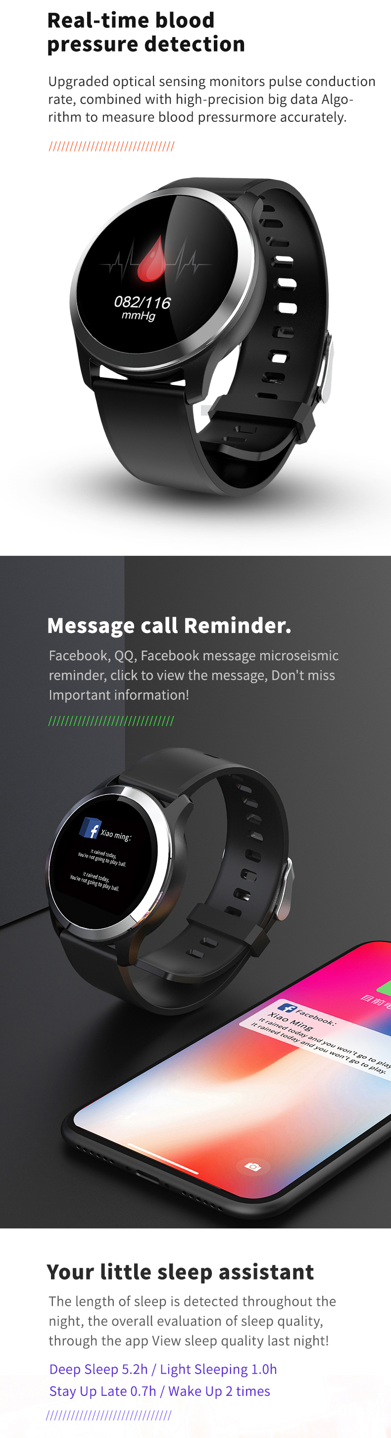 Latest Z03 Sport Bluetooth Smart Bracelet Full Touch Screen Iso Android Smart Watch Heart Rate Monitor Smartwatch
