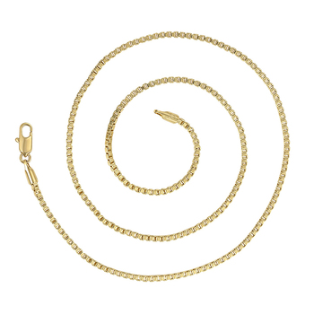 46006 Xuping fashion jewelry new arrival simple design, 14K gold plating chain necklace jewelry