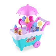 Детские развивающие игрушки для девочек с изображением конфет и мороженого, костюмы для дома, ролевые игрушки(Китай)