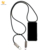 For iPhone SE Lanyard TPU PC Mobile Phone Accessory USB Charge Cable Strap Necklace Phone Case