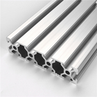 Anodizado tubo de aluminio anodised aluminum extrusion low price best sale high quality window frame profiles