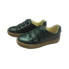 Kids Children Kids Comfortable Cow Leather Shoes Black Casual Shoes For Children Boys Shoes Sneakers