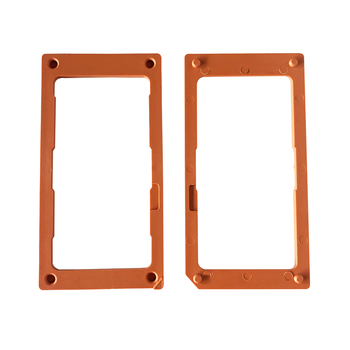 China customized injection molding of tempered glass screen protector installation