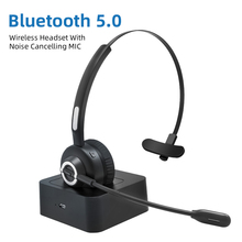 2019 drahtlose Bluetooth Telefon Computer Gaming Call-Center-Headset Mit Noise Cancelling Mikrofon