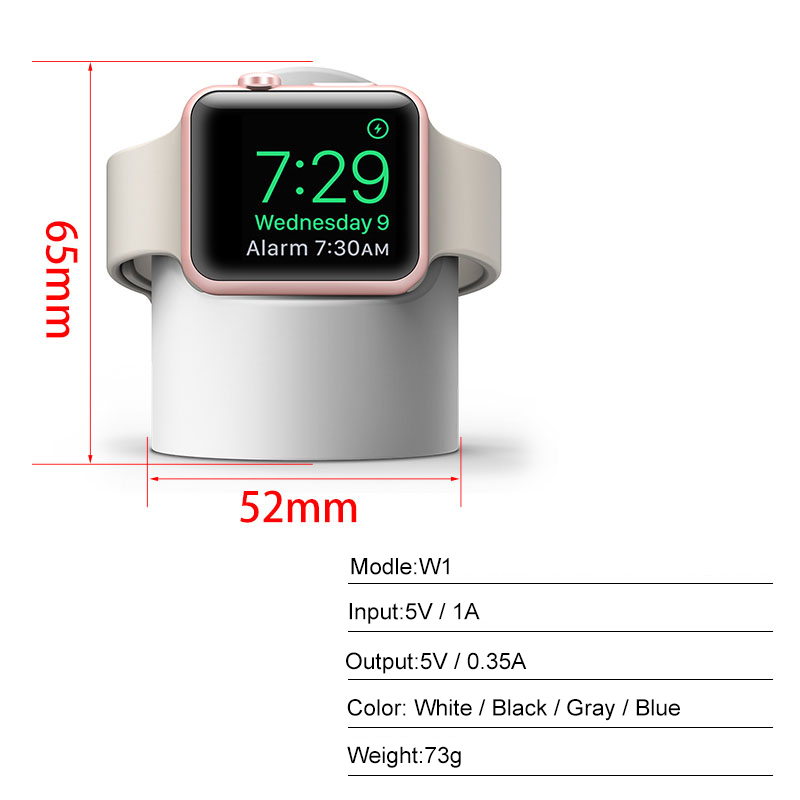 2019 Innovation Design wireless charger for wireless watch,for apple watch wireless charging stand ,QI watch charger