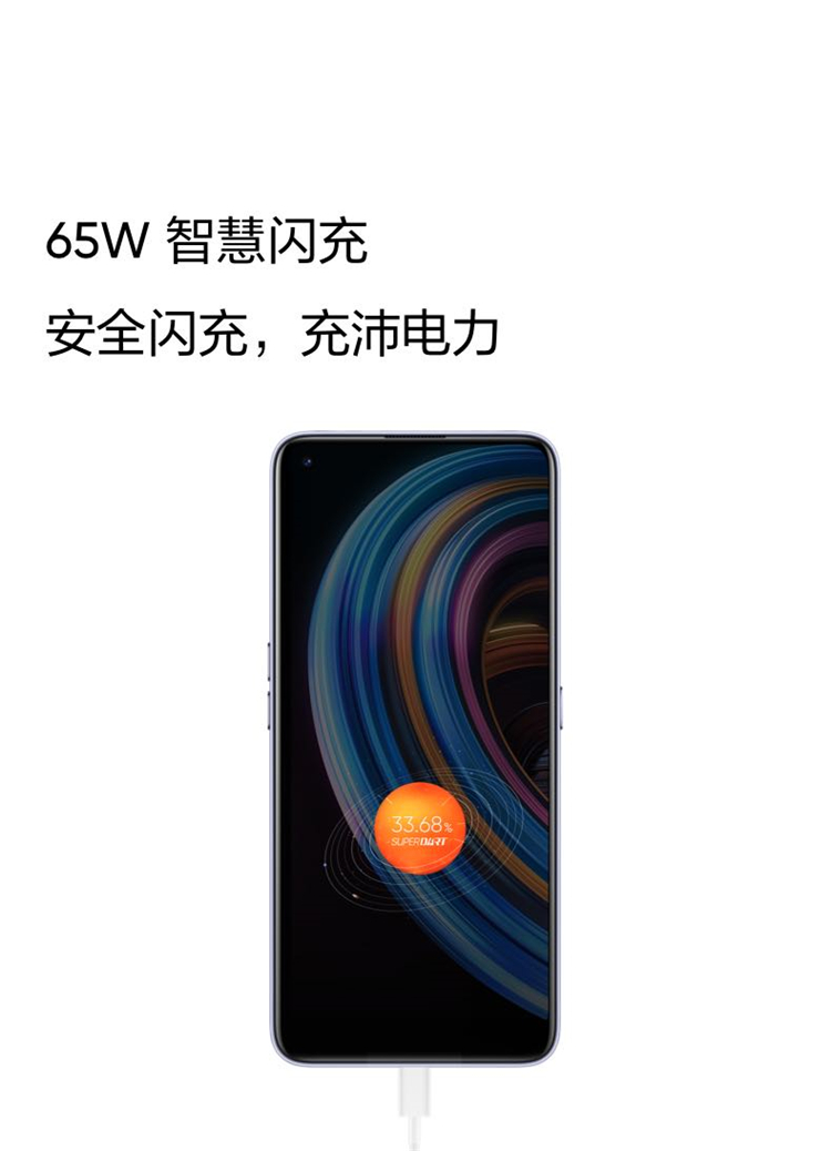 New for Realme X7 smartphone 5g 64 million HD four camera 65W superdart fast charging game phone