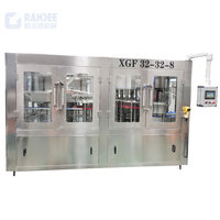 Automatic bottled pure water filling machine / production line