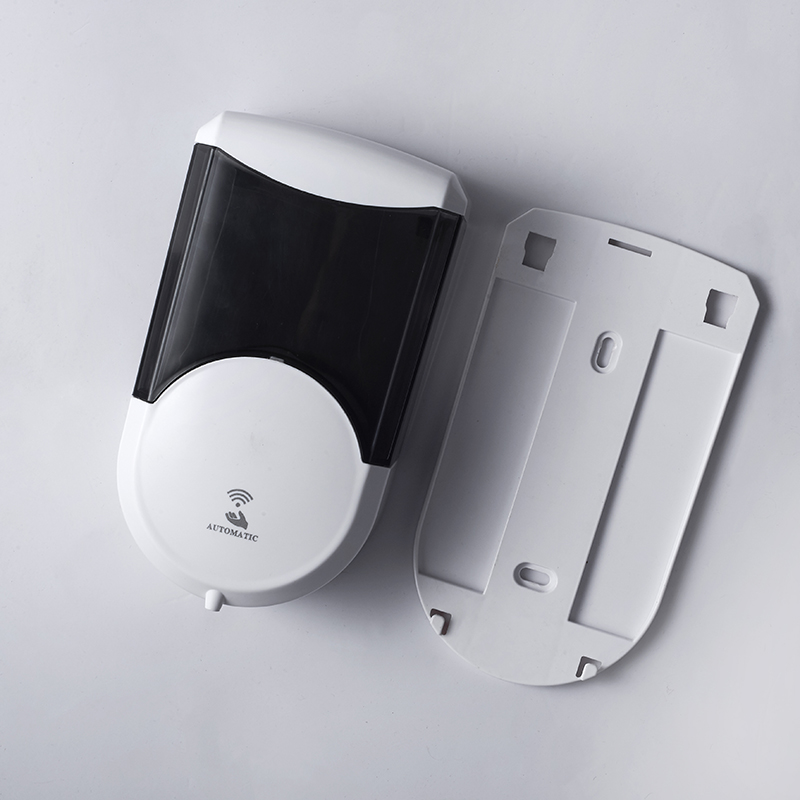 500ml ABS wall mounted restroom manual refillable solid soap dispenser wall mount for hotel with induction window